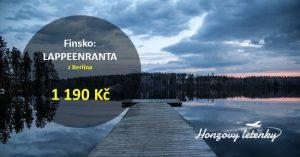 Levné letenky do FINSKA