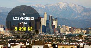 Akční přímé lety do LOS ANGELES