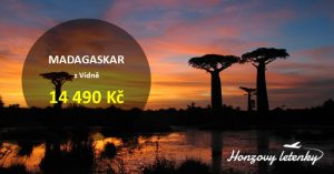 Akční letenky na MADAGASKAR