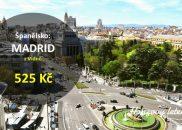 Levné letenky do MADRIDU
