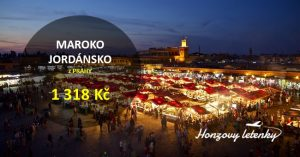 Akční letenky do MAROKA a JORDÁNSKA