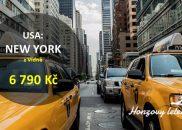 Nejlevnější letenky do NEW YORKU