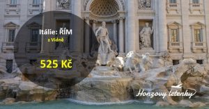Levné letenky do ŘÍMA