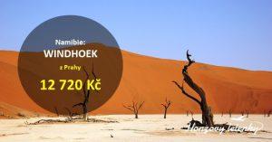 Nejlevnější letenky do NAMIBIE na safari