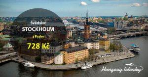 Letenky do STOCKHOLMU za akční cenu