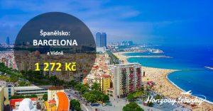 Akční letenky do letní BARCELONY