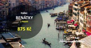 Červnové Benátky z Prahy