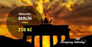 Levné letenky do BERLÍNA