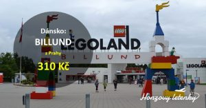 Akční letenky do dánského LEGOLANDU