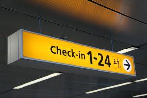 Ryanair – odbavení letenek (check in)