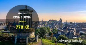 Akční letenky na prodloužený víkend v EDINBURGHU