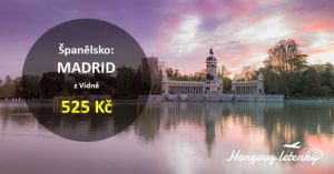Výhodné letenky do MADRIDU