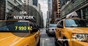 Přímé letenky do NEW YORKU