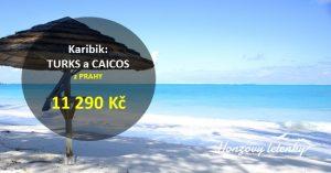 Letenky do KARIBIKU – Turks a Caicos
