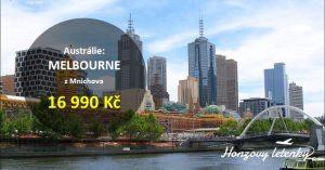 Výhodné letenky do australského MELBOURNE