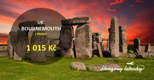 Akční letenky do Anglie