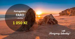 Levné letenky na jih Portugalska