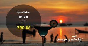Letenky na IBIZU