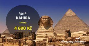 Akční letenky do KÁHIRY k pyramidám