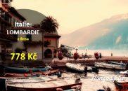 Letní letenky k italským jezerům