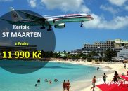 Akční letenky na pláže ostrova ST MAARTEN