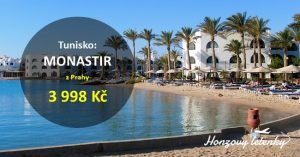 Akční letenky do TUNISKA