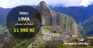 Akční letenky do PERU