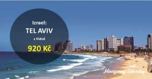 Levné letenky do TEL AVIVU