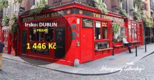 Levné letenky do irského DUBLINU