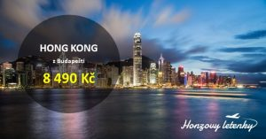 Akční letenky do HONG KONGU a okolí
