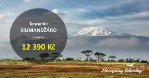 Levné letenky do Tanzanie pod KILIMANDŽÁRO