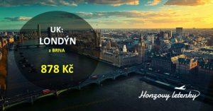 Letenky do LONDÝNA z Brna