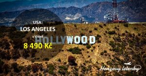 Přímé lety do LOS ANGELES za akční cenu