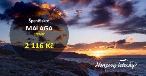Letní letenky do MALAGY