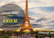 Výhodné letenky do PAŘÍŽE