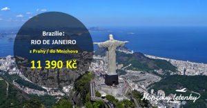 Akční letenky do RIA DE JANEIRA