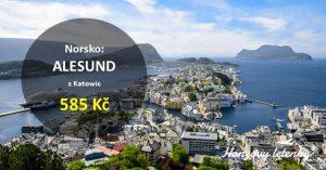 Akční letenky do norského ALESUNDU