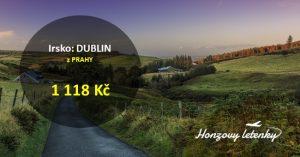 Nejlevnější letenky do DUBLINU