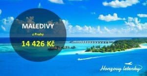 Akční letenky z Prahy na MALEDIVY
