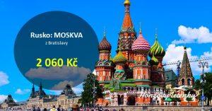 Akční letenky do MOSKVY