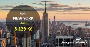 Akční letenky z Prahy do NEW YORKU