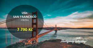 Akční letenky do SAN FRANCISCA