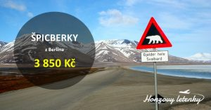 Akční letenky do NORSKA a na ŠPICBERKY