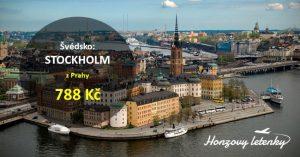 Levné letenky do STOCKHOLMU
