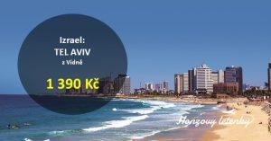 Letenky do izraelského TEL AVIVU