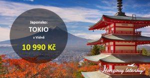 Výhodné letenky do JAPONSKA