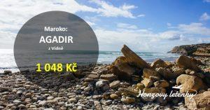 Akční letenky do AGADIRU