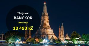 Do BANGKOKU levně bez přestupu