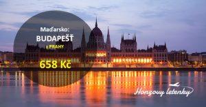 Nejlevněji do Budapešti