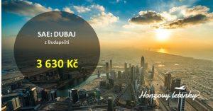 Levné letenky do Dubaje